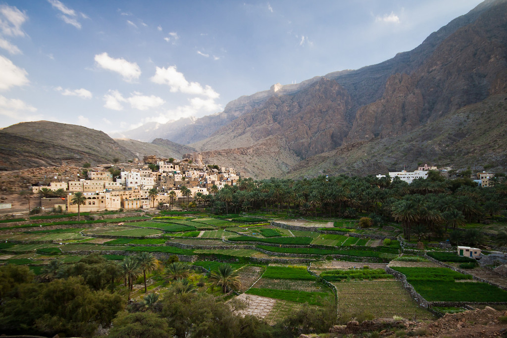 The charming and quaint village of Balad Seet in Al Rustaq, Oman.