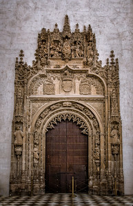 Granada Cathedral Door - Spain