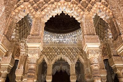 Alhambra Details - Granada
