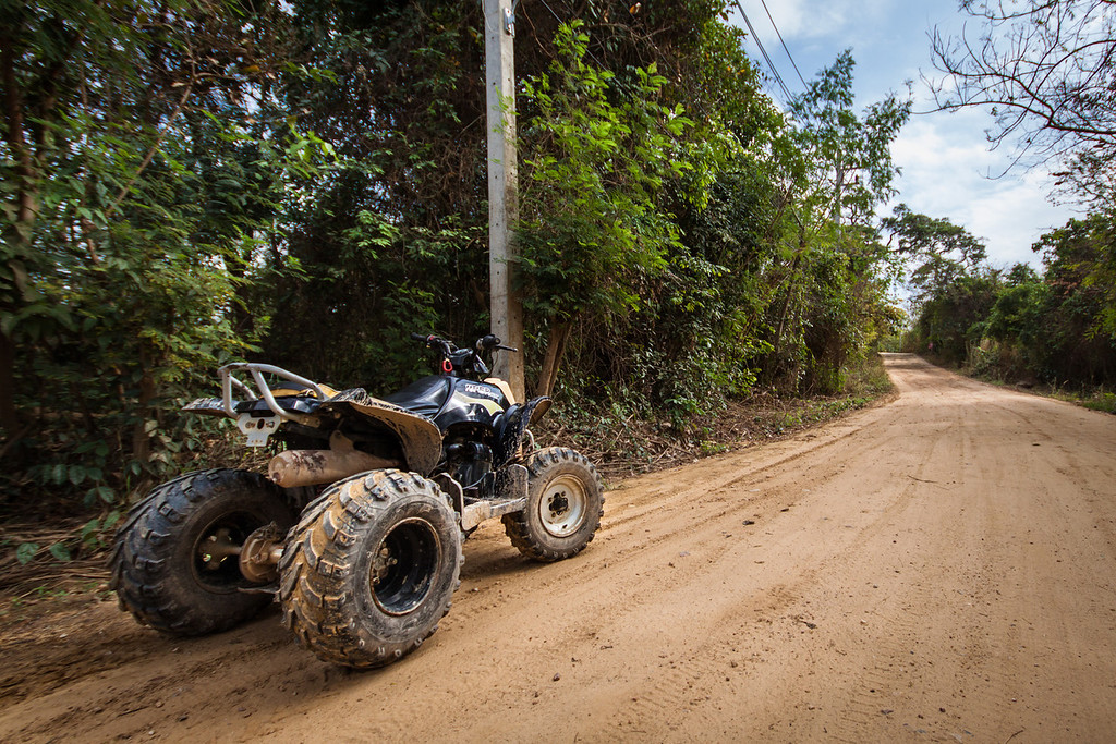 ATVs are popular on Koh Samet island in Thailand
