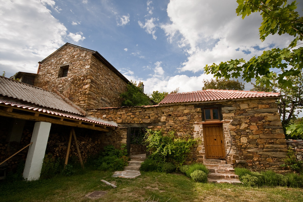 The albergue for pilgrims in Rabanal del Camino run by an english couple on the Camino de Santiago in Spain.
