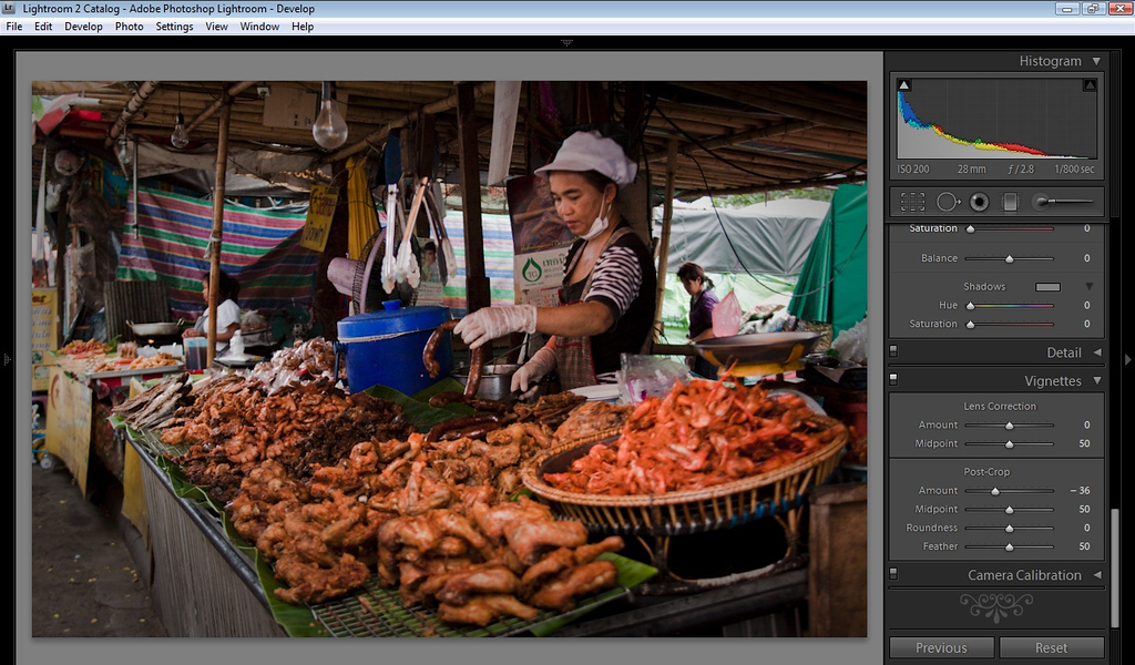 Lightroom Tutorial - Vignetting