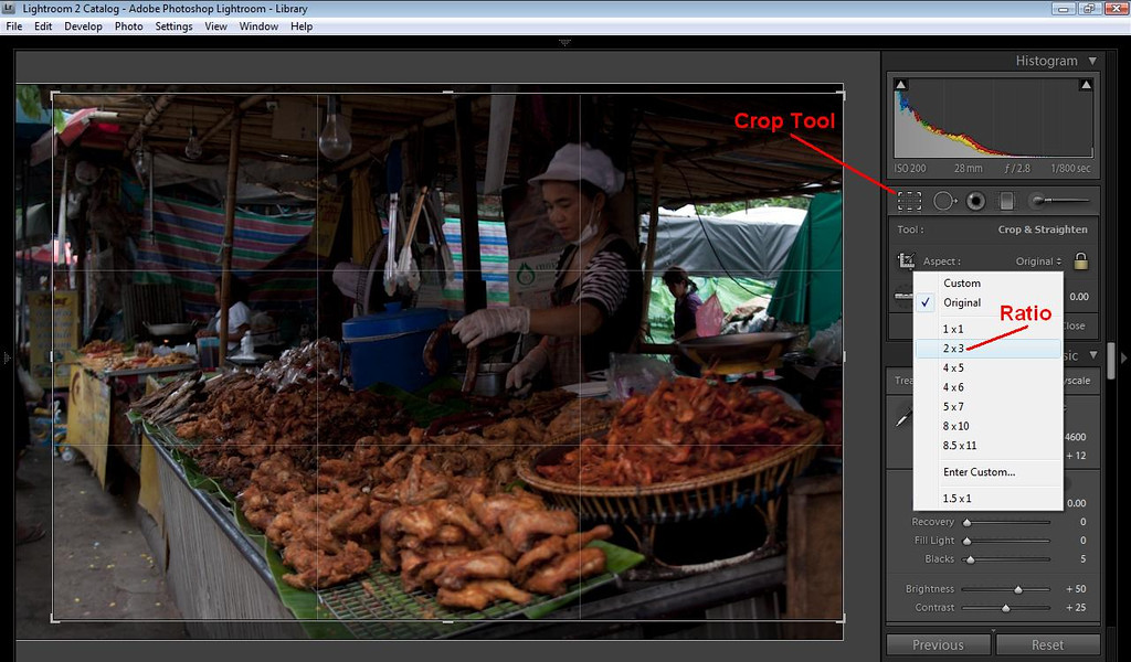 Lightroom Tutorial - Cropping Tool
