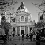 La Sorbonne University in Paris, one of the most prestigious universities in France.