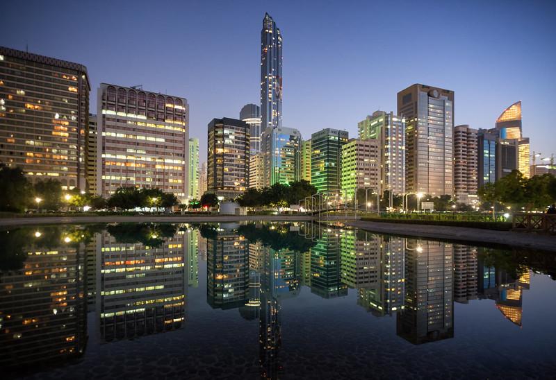Abu Dhabi Reflections - UAE