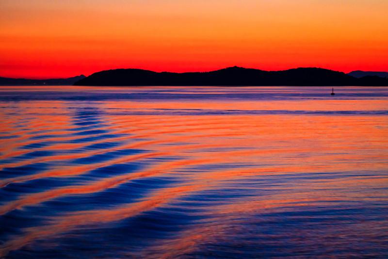 Ferry Sunset ~ Greece
