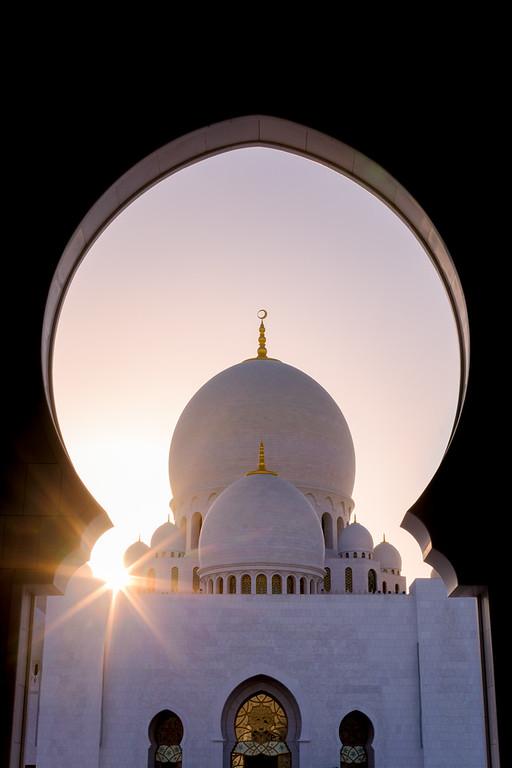Sheikh Zayed MOsque Starburst - UAE